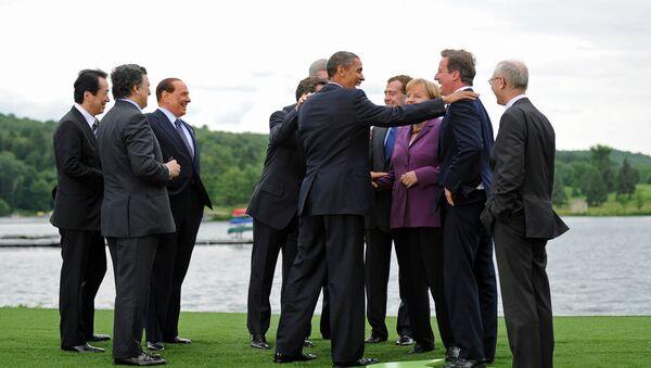 I leader di G8 - Sputnik Italia