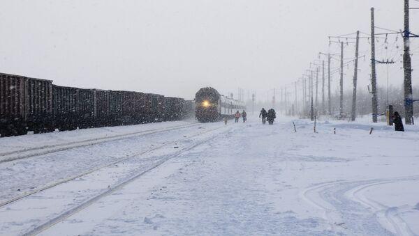 Treni nell'Artico - Sputnik Italia