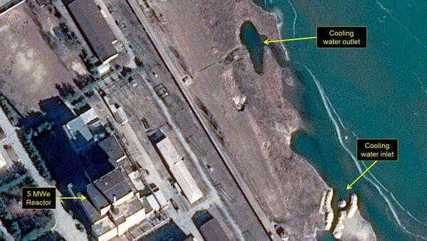 La mappa di una centrale a Yongbyon, in Corea del Nord - Sputnik Italia