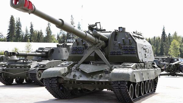 2S19 Msta-S semovente d'artiglieria - Sputnik Italia