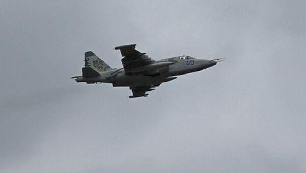 Un Su-25 dell'aviazione ucraina - Sputnik Italia