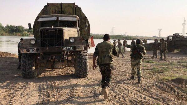 Syrian army forced the Euphrates River near Deir ez-Zor - Sputnik Italia