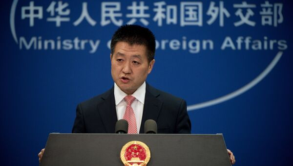 Chinese Foreign Ministry spokesman Lu Kang speaks to the media during a press conference in Beijing. (File) - Sputnik Italia