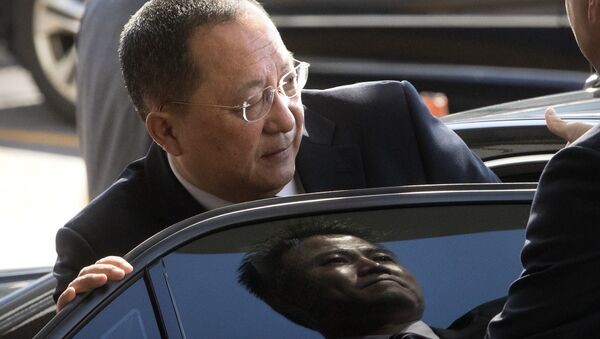 Ri Yong Ho, il ministro Esteri della Corea del Nord - Sputnik Italia