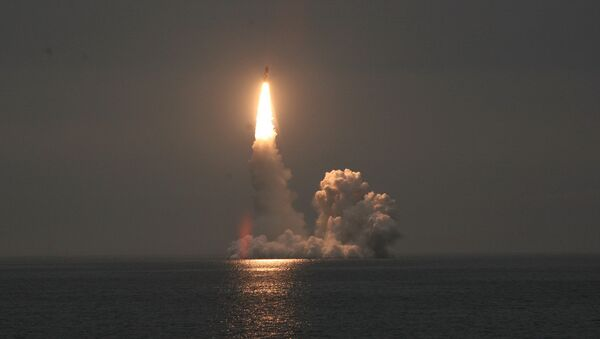 Launch of a Bulava SLBM - Sputnik Italia