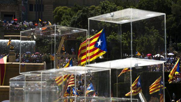 Le bandiere di Catalogna. - Sputnik Italia