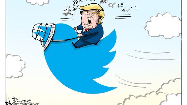 Trump tra gli intoccabili del Twitter - Sputnik Italia