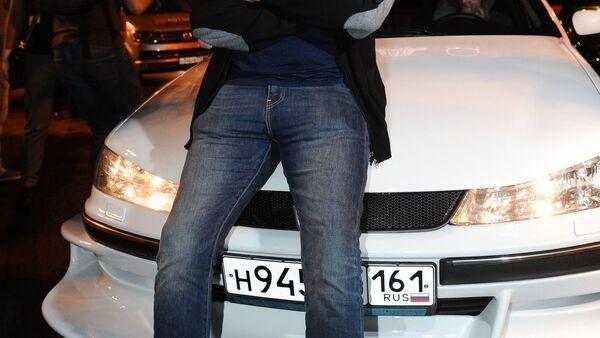 Attore francese Semi Naceri, la star del film Taxi, al festival BRIDGE of ARTS a Rostov-sul-Don, Russia. - Sputnik Italia
