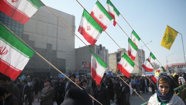 La bandiera dell'Iran - Sputnik Italia