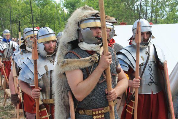 I gladiatori pronti al combattimento. - Sputnik Italia