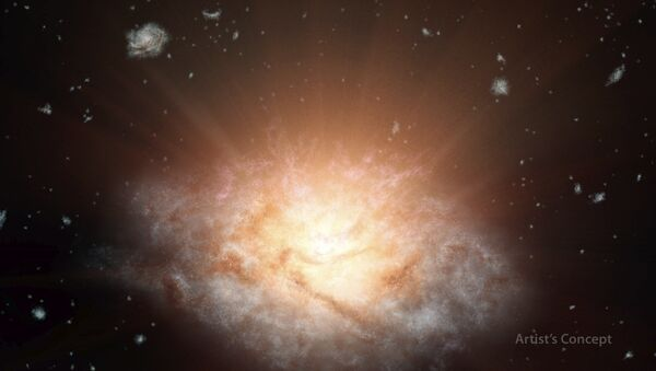The most luminous galaxy in the universe - Sputnik Italia
