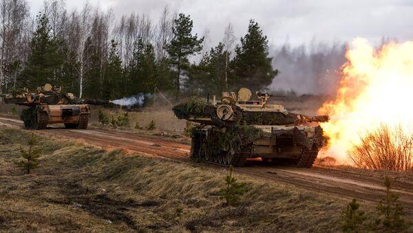 Carro armato M1 Abrams - Sputnik Italia