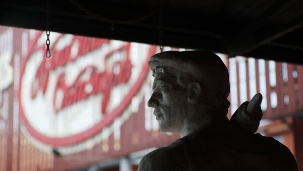 La celebre fabbrica di cioccolato Ottobre Rosso - Sputnik Italia
