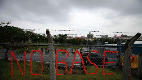 Proteste contro le basi americane a Okinawa - Sputnik Italia