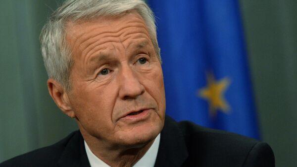 Il segretario generale del Consiglio d'Europa Thorbjorn Jagland - Sputnik Italia