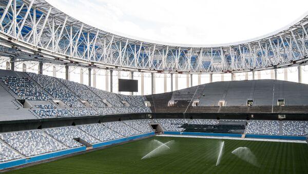 Lo stadio di Nizhny Novgorod per i Mondiali del 2018 - Sputnik Italia