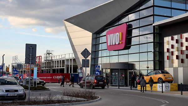 Centro commerciale VIVO! a Stalowa Wola, Polonia - Sputnik Italia