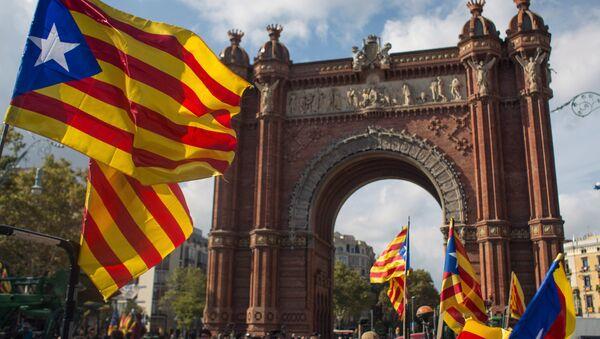 La bandiera della Catalogna - Sputnik Italia