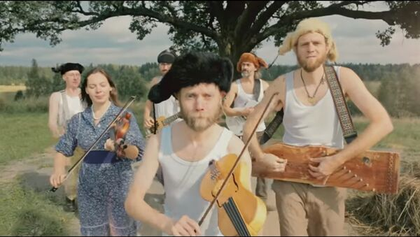 Il gruppo musicale folk di San Pietroburgo Otava Yo - Sputnik Italia