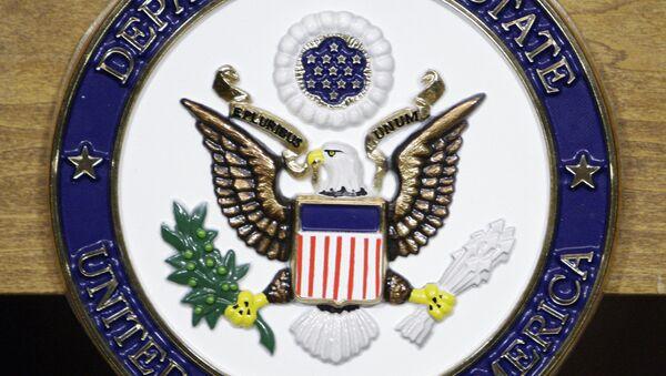 Emblema del Dipartimento di Stato USA - Sputnik Italia