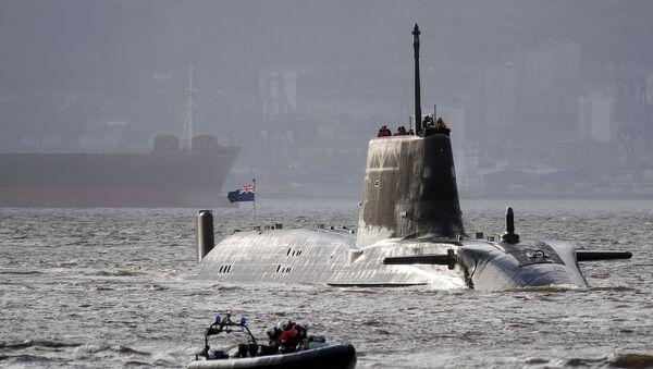 Sottomarino delle forze navali britanniche (foto d'archivio) - Sputnik Italia
