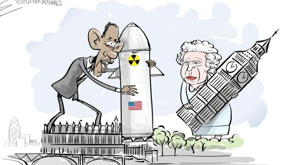 La Gran Bretagna accoglie i missili USA - Sputnik Italia