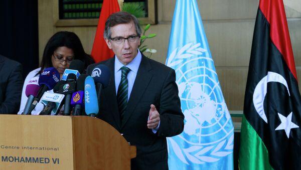 Bernardino Leon, inviato speciale dell'ONU in Libia - Sputnik Italia
