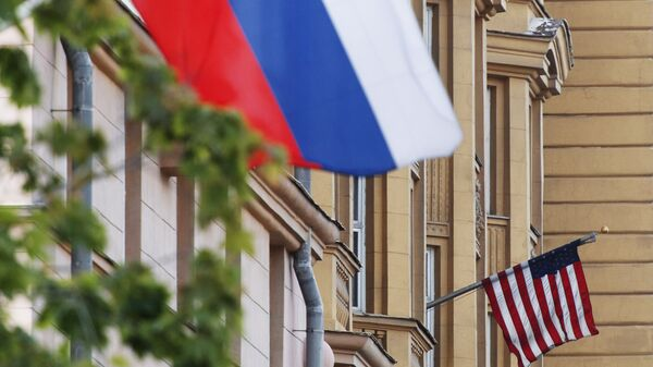 Le bandiere Russia USA - Sputnik Italia