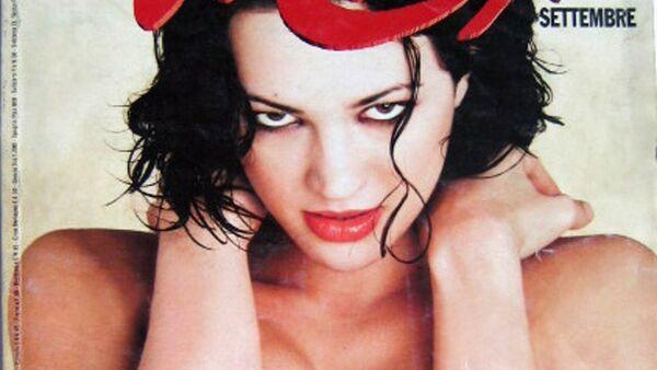 La copertina di Max dedicata ad Asia Argento nel settembre 1998 - Sputnik Italia