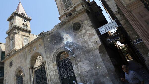 Маронитская церковь в городе Алеппо - Sputnik Italia
