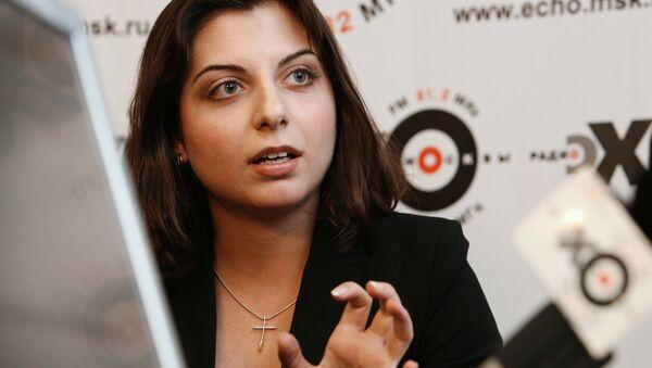 Margarita Simonyan, caporedattore di Rossiya Segodnya - Sputnik Italia