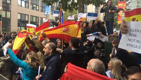 La situazione in Catalogna, le proteste a Barcellona - Sputnik Italia