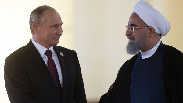 L'incontro tra Putin e Rouhani - Sputnik Italia