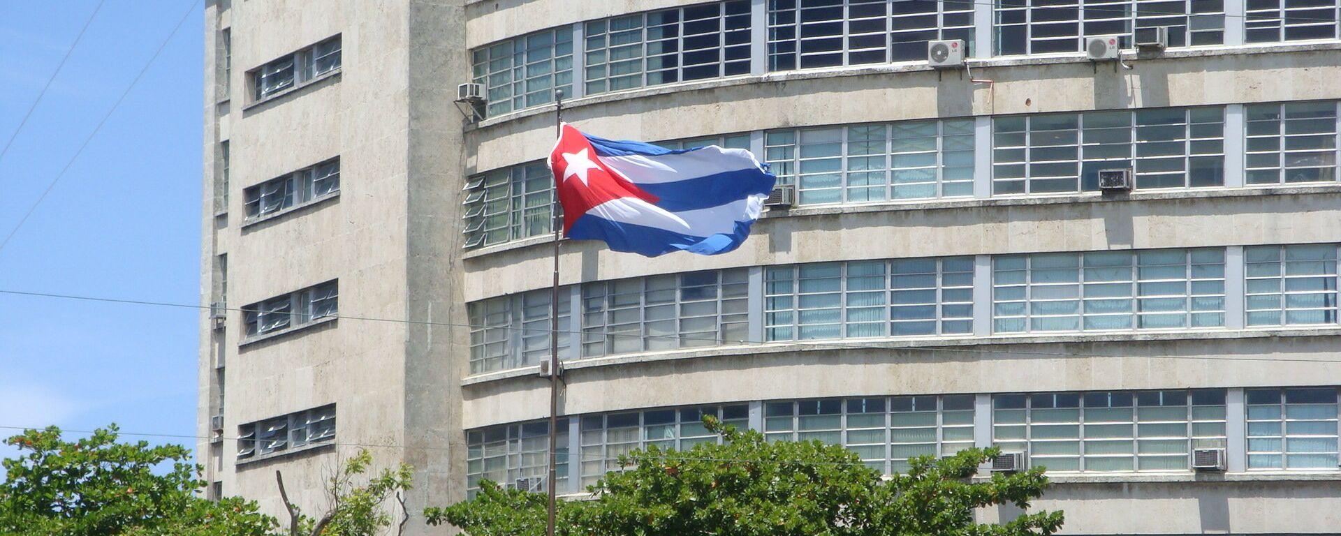 La bandiera cubana - Sputnik Italia, 1920, 07.08.2021