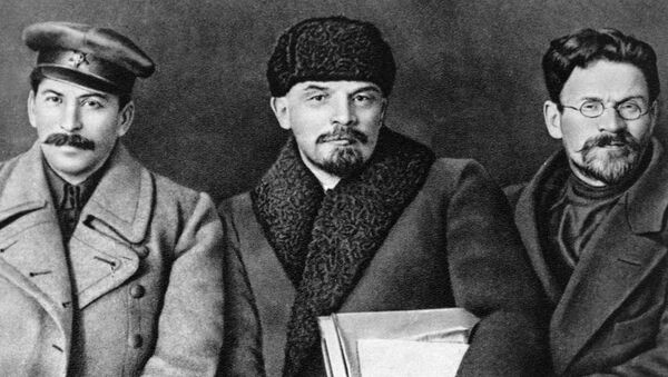 Stalin, Lenin e Kalinin - Sputnik Italia