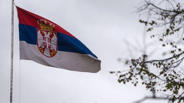 La bandiera della Serbia - Sputnik Italia