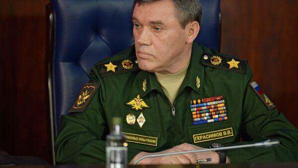 Capo di Stato Maggiore delle forze armate russe: il generale Valery Gerasimov - Sputnik Italia