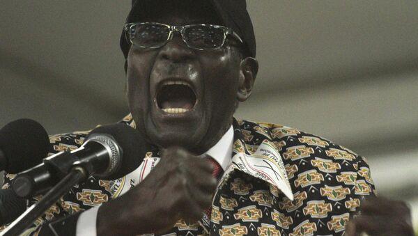 Il presidente del Zimbabwe Robert Mugabe - Sputnik Italia