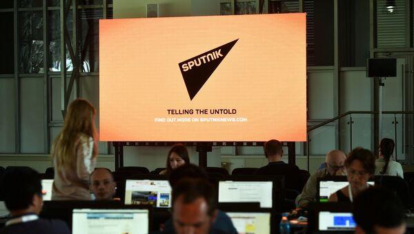 Journalists in the media center - Sputnik Italia