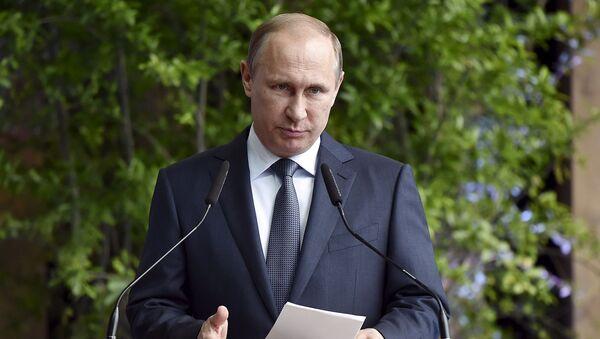 Vladimir Putin interviene a Expo - Sputnik Italia