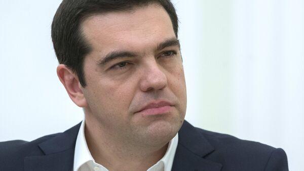 Alexis Tsipras, primo ministro della Grecia - Sputnik Italia