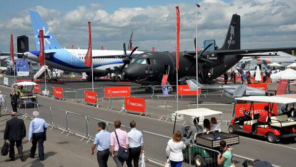 International Farnborough Airshow 2014. File photo - Sputnik Italia