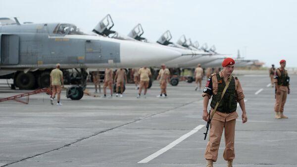 La base aerea russa di Hmeymim in Siria - Sputnik Italia