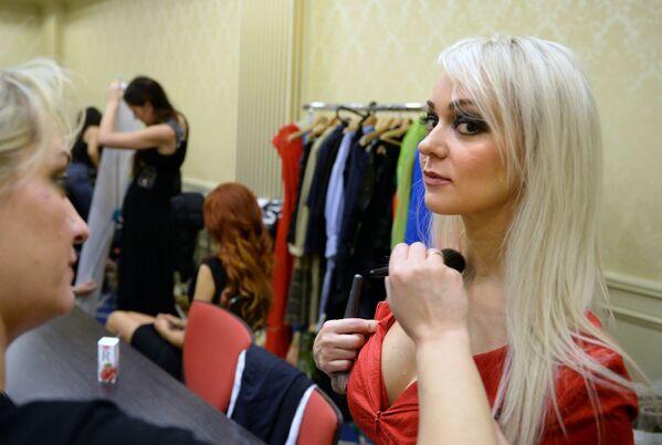 Le finali del concorso Top Model Russia 2017 - Sputnik Italia