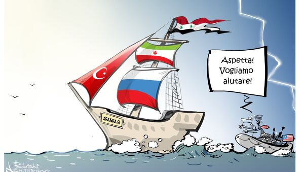 Crisi in Siria - Sputnik Italia