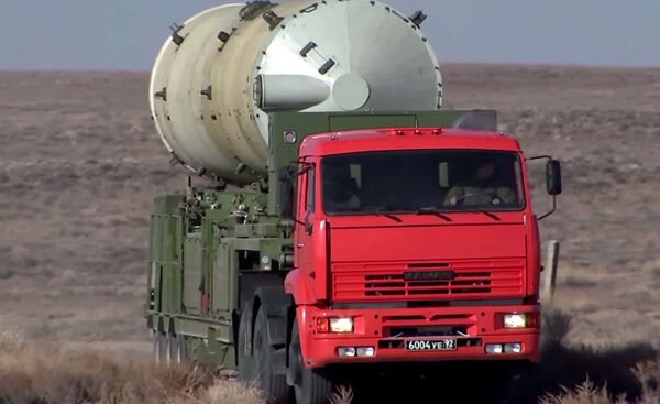 I collaudi dello scudo spaziale russo nel poligono di Sary-Shagan in Kazakhstan - Sputnik Italia