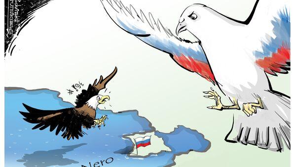Gli aerei USA volano sopra Mar Nero - Sputnik Italia