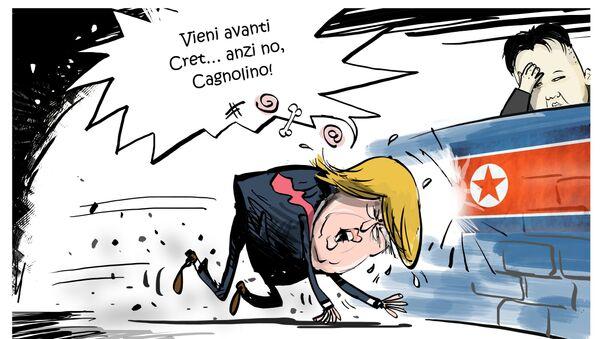 Trump e Kim Jong Un - Sputnik Italia