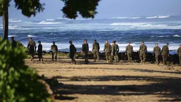 Marines americani alle Hawaii - Sputnik Italia