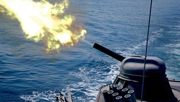 Un missile lanciato da una nave della Flotta Russa del Pacifico - Sputnik Italia